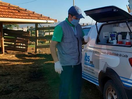 A plataforma CheckMilk leva qualificação para milhares de propriedades leiteiras pelo Brasil