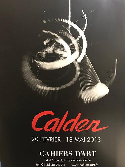 Affiche Alexander Calder. Exposition 2013