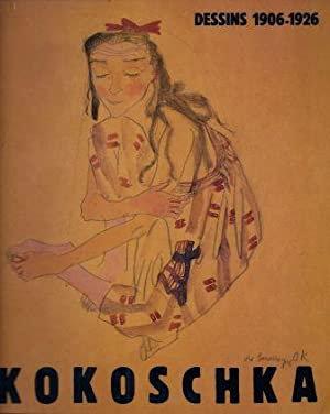 Kokoschka. Dessins et aquarelles, 1906-1926. Pompidou. 1987.