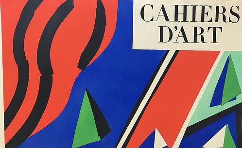 Gouache découpée originale Henri Matisse. 1936.