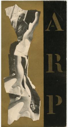 Jean Arp. Collages. Galerie Berggruen. 1955.