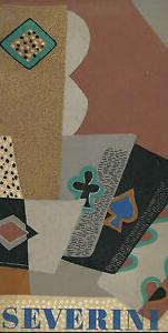Gino Severini. Oeuvres futuristes et cubistes. Galerie Berggruen. 1956.