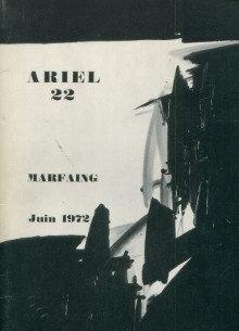 A propos de l'exposition des peintures de Marfaing, Galerie Ariel, 1972
