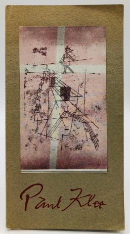 Paul Klee. 24 gravures. Galerie Berggruen. 1952. Premier catalogue.