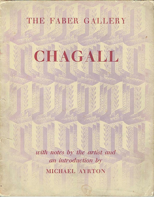 The Faber Gallery, Chagall, introduction de Michael Ayrton, 1948
