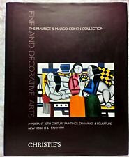 Catalogue de vente Christie's, The Maurice and Margo Cohen Collection, 1999