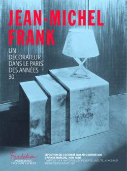 Jean Michel Franck, Un décorateur dans le Paris des années 30, 2009