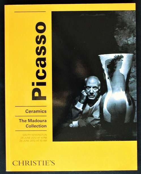 Picasso Ceramics : the Madoura Collection, catalogue de vente Christie's, 2012