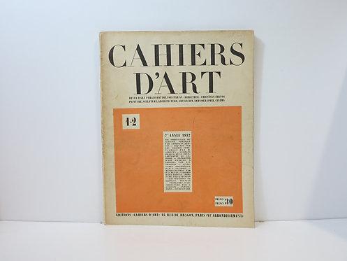 Revue Cahiers d'Art. 1932. n°1-2.