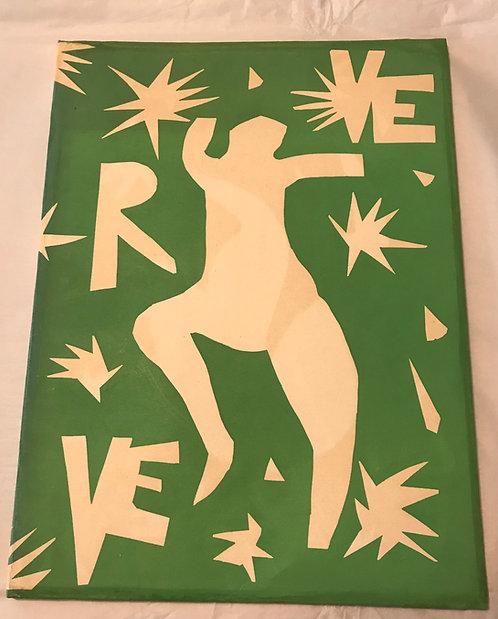 Henri Matisse, De la couleur.volume IV, N° 13. Verve. 1945.