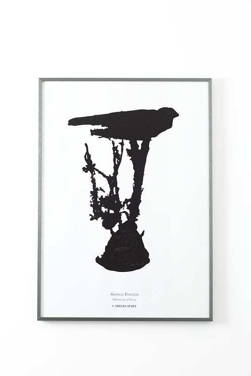 Poster Andreas Eriksson - Memories of Snow - Signed edition, 2020