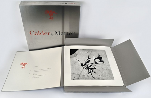 Calder by Matter. Edition Collector. 2013.