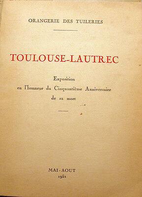 Toulouse Lautrec, Orangerie des Tuileries, 1951