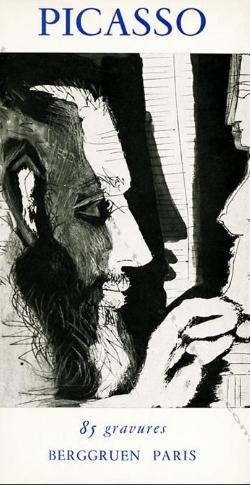 Picasso. 85 gravures. Galerie Berggruen. Paris. 1966.