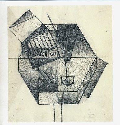 Juan Gris, 100 oeuvres sur papier, 1909 - 1926, Galerie Louise Leiris, 2002