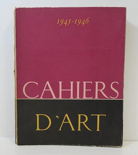 Cahiers d'Art. 1945-1946, 20e-21 années .