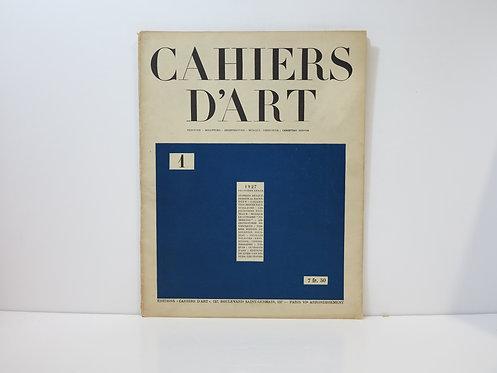 Revue Cahiers d'Art. 1927. n°1