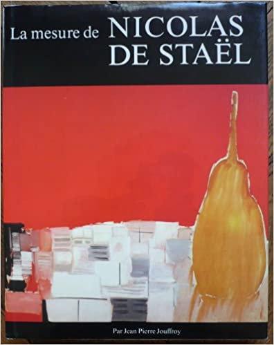 La mesure de Nicolas de Stael par Jean Pierre Jouffroy, 1981