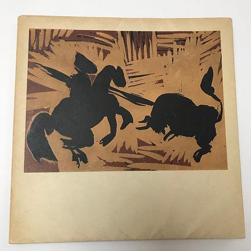 Catalogues d'expositions. Picasso. Gravures. Dessins. Galerie Louise Leiris.