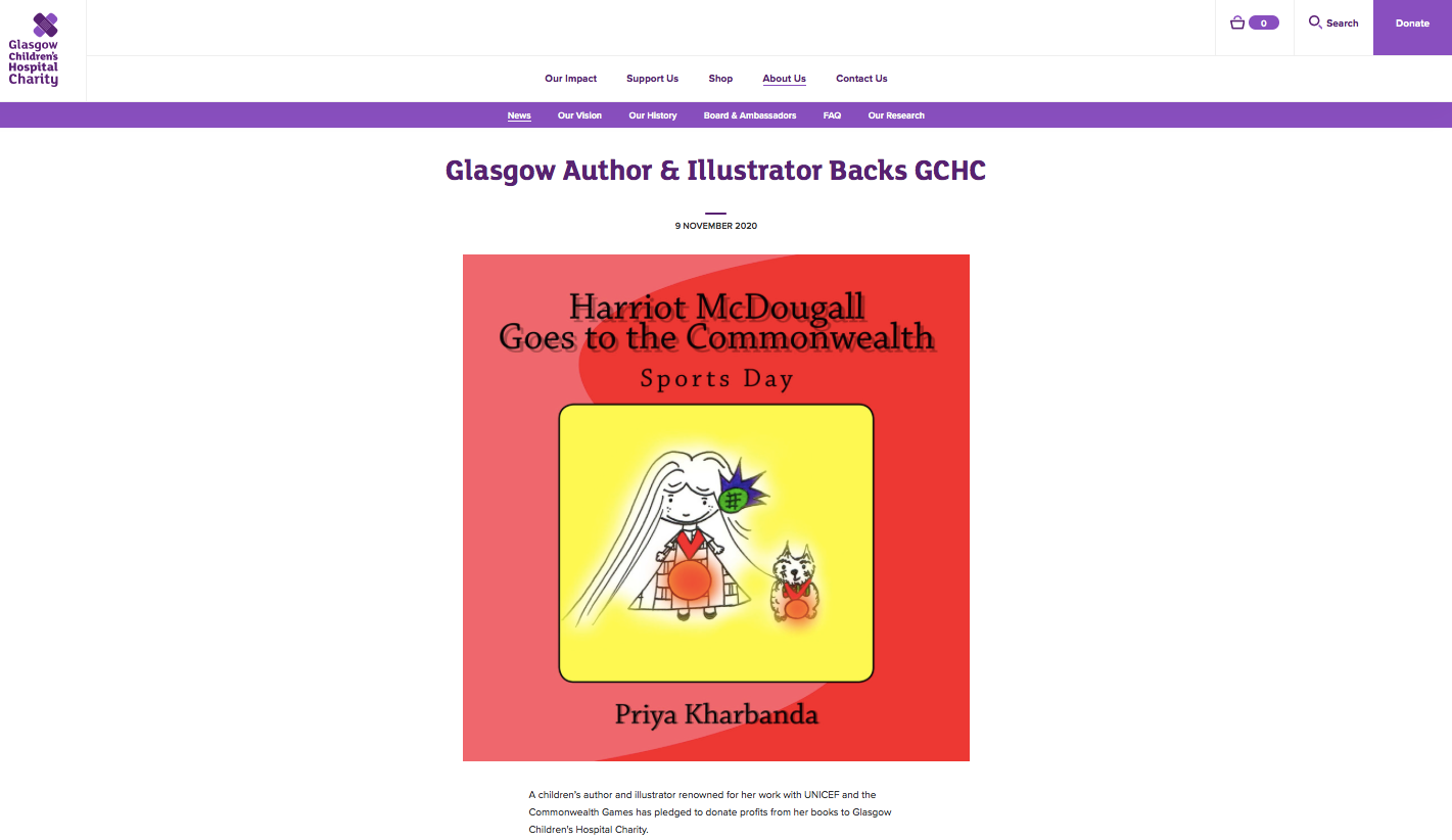 Harriot McDougall Books and GCHC/NHS Partnership