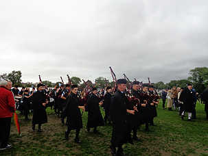 Storytelling at the World Pipe Band Championships