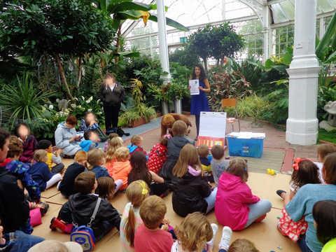 Storytelling at Glasgow Green