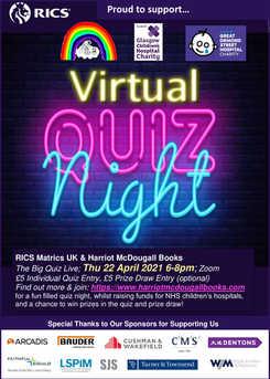 Harriot McDougall Books & RICS Matrics Charity Quiz