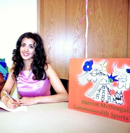Charity and social: Priya Kharbanda draws on her talents