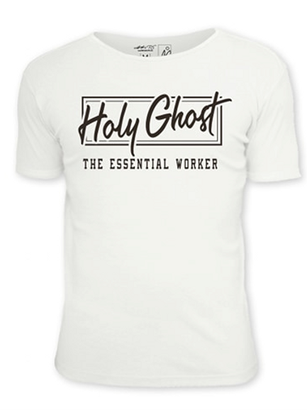 Holy Ghost The Essential Worker White T-shirt