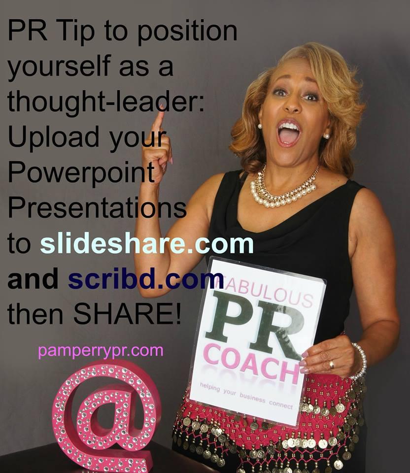 Pam Perry PR COACH