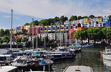 Floating Harbour in Bristol, the UK.jpg