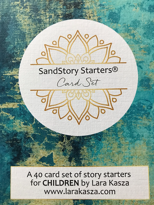 SandStory Starters® [CHILDREN] card deck