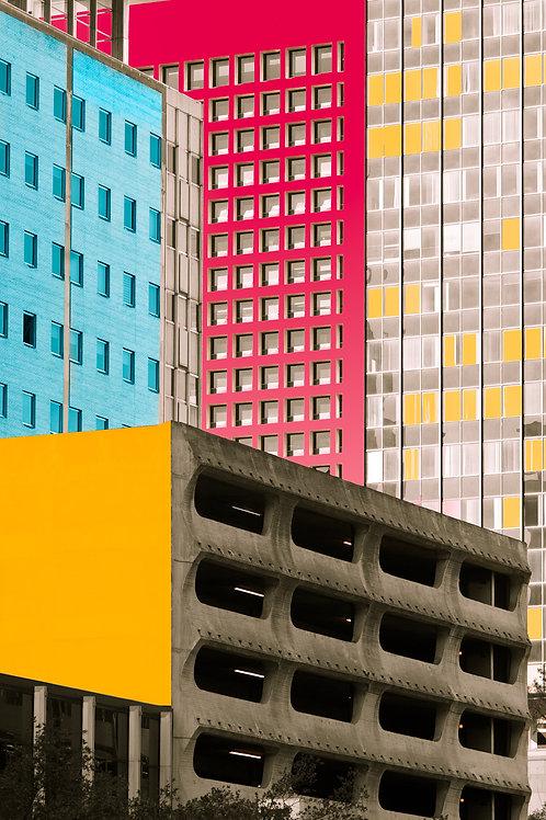 Dallas Colorful Architecture