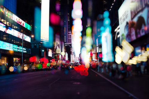Time Square Bokeh