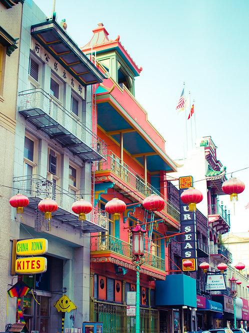 San Francisco Chinatown Colors