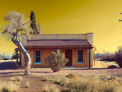 Van Horn Yellow Texas Photo