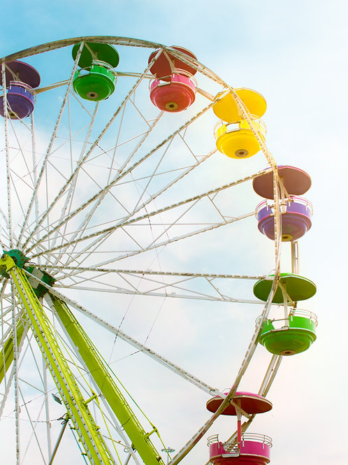 Bright Ferris Wheel I