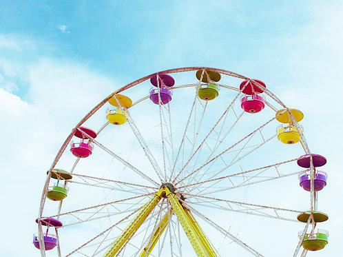 Bright Ferris Wheel II