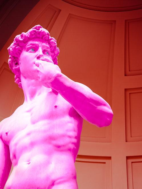 David in Pink