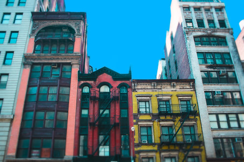 Colorful NYC