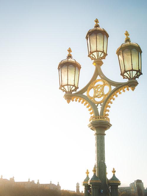 Westminster Bridge Lantern Photo