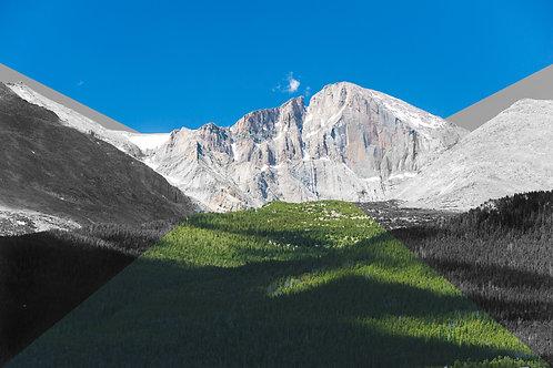Colored Peaks I