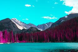 Rocky Mountain photo print