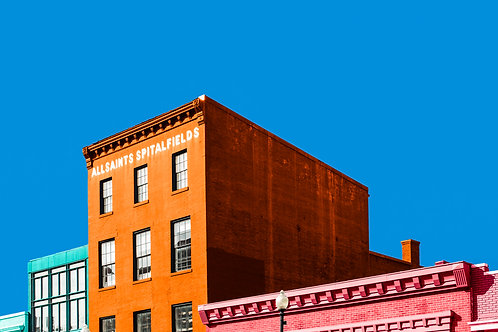 Colorful Spitalfields Buildings