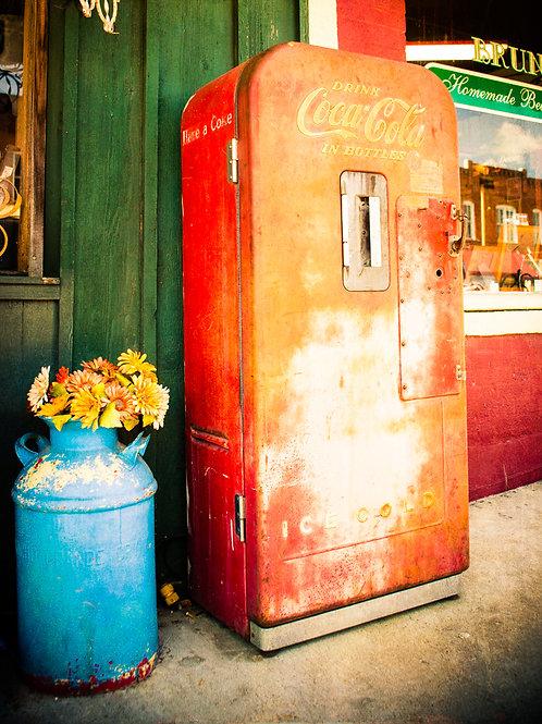 Vintage Coke in Summer