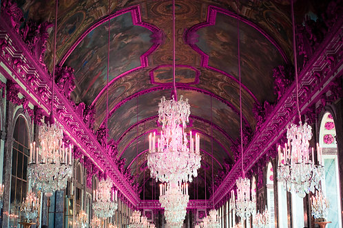 Hot Pink Hall of Mirrors