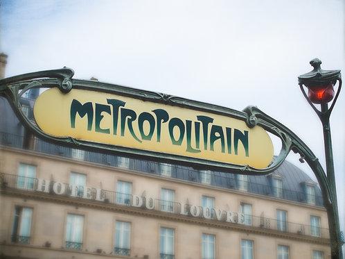 Louvre Metro
