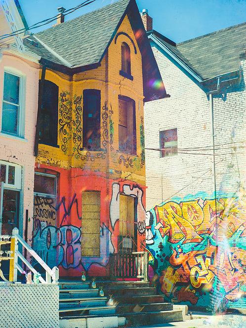 Toronto Kensington Graffiti House
