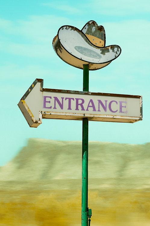 Cowboys Entrance