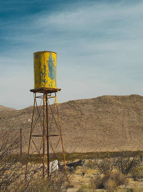 West Texas Yellow Tower